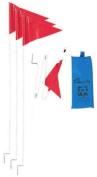 Champion Sports Fold-A-Flag Soccer Corner Flag System