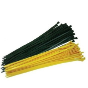 Fence Crown 48.3cm Zip Ties-Yellow 100 per pack