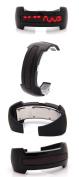 2013 New Design Bracelet Light up Digital Science Fiction Sport LED Watch Black