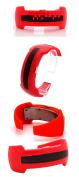 2013 New Design Bracelet Light up Digital Science Fiction Sport LED Watch Red