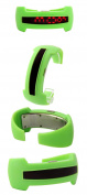 2013 New Design Bracelet Light up Digital Science Fiction Sport LED Watch Green