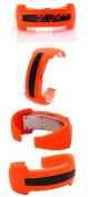 2013 New Design Bracelet Light up Digital Science Fiction Sport LED Watch Orange