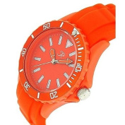 Reflex Orange Silcone Strap Analogue Ladies - Unisex Sports Watch SR004