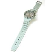 Reflex Unisex Rotating Bezel Grey Silicone Strap Sports Watch SR010