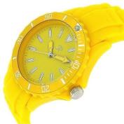 Reflex Yellow Silcone Strap Analogue Ladies - Unisex Sports Watch SR005