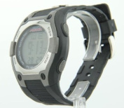 Mens Cage Fighter Rubberized Band Digital Watch CF32005BSBK