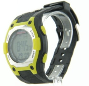 Mens Cage Fighter Rubberized Band Digital Watch CF332005BSYL
