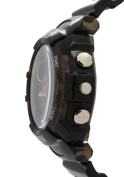 Ohsen Translucent Strap With Chronograph Dual Time Circle Dial Watches