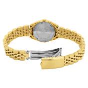 Pulsar Womens Gold-Tone Dress Watch PXX004