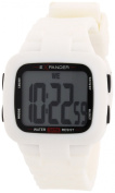 Sector Unisex Watch R8258739172.1cm Collection Street with Digital Display and White Strap