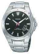 Pulsar Men's PXH823 Sport Black Dial Watch