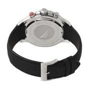 Nautica Men's N16553G NST Chronograph Flag Black Dial Watch