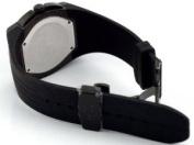 Adee Kaye Men's Ryder G2 Sports Black IP Chronograph Watch Model AK6002-MIPB1
