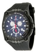 Adee Kaye Men's Ryder G2 Sports Black IP Chronograph Watch Model AK6002-MIPB2