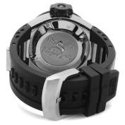 Invicta Men's 1153 Subaqua Noma IV GMT Black Dial Polyurethane Watch