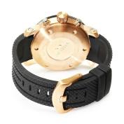 TW Steel Men's TW77 Grandeur Diver Black Rubber White Chronograph Dial Watch