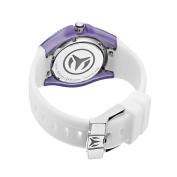 TechnoMarine Unisex 110056 Cruise Original Beach Silver/Purple Interchangeable Strap Watch
