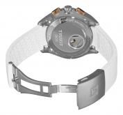Tissot Men's T0244272701100 Velco-T White Chronograph Dial Watch