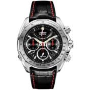 Citizen Signature Eco-Drive Flyback Men's Stainless Steel Case Watch AV1000-06E