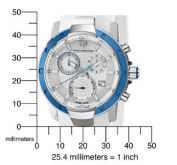 TechnoMarine Unisex 610002 UF6 Chronograph White MOP Dial Watch