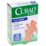 Bandage, Fabric, Curad, 10 Fingertp/knuckle