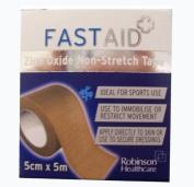 Fastaid Zinc Oxide Non-Stretch Tape 5cm x 5m