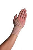 Swede-O Elastic Wrist Wrap (One Size fits most) Beige