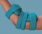 Comfy Paediatric Elbow Orthosis Size: M, Colour: Blue, Fits Child Age