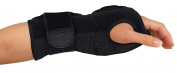 Mueller Sports Medicine Night Support Wrist Brace, Black, Size Measure Around Wrist 5.75 - 22.9cm