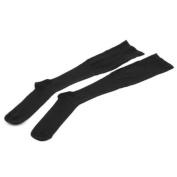 BestDealUSA Black Miracle Socks Anti- fatigue Compression Socks 1 Pair Size L/XL Unisex