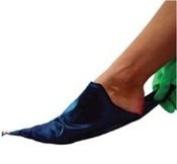 SIGVARIS Silk Foot Slip, Open Toe