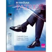 Mediven Patriot Men's Ribbed Knee Highs 30-40mmHg Size