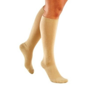 Truform 8865S-L Classic Medical Closed Toe 20-30 mmHg Knee High Support Stockings - Size- Large Short, Colour- Beige