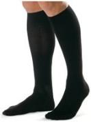 X-Large Black Knee Length Men'S 30-40Mm, Pair