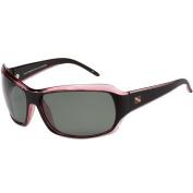 100% Ultra Violet Polarised Dive Shades, Atlantic II style, - Black/Red