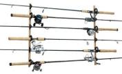 DU-BRO Fishing Trac-A-Rod Storage System, 1.2m, Black/Gold