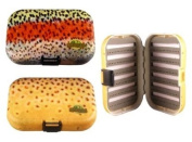 MFC Rainbow Plastic Fly Box, Trout