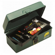Plano One Tray Tackle Box, Dark Green Metallic