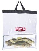 Ego Tournament Weigh-In Bag, Black/Clear