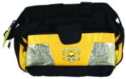 Calcutta Black and Yellow Wide Mouth Tackle Bag with 2 Each 360 Trays