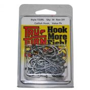 Tru Turn TTI Catfish Hook-36 Per Box, 2/0, Silver