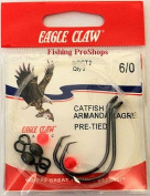 Eagle Claw 6/0 Catfish Rig - Dual Hooks