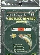 Crystal River Knotless Tapered Leader