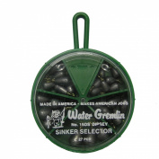 Water Gremlin Dipsey Swivel Sinker Selector, 7ea/10, 6ea/9, 5ea/8, 5ea/7, 4ea/6