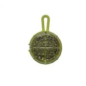 Water Gremlin Gremlin Green /Tin Round Split Selector, 28ea/BB, 20ea/3/0, 8ea/7, 6ea/5