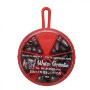 Water Gremlin Snap Loc Dipsey Sinker Selector, 7ea/10, 6ea/9, 5ea/8, 5ea/7, 4ea/6