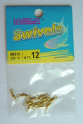 72 Pcs of Brass Barrel Swivel #12