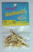72 Pcs of Brass Barrel Swivel #3