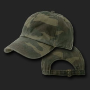 Ultimate Arms Gear Tactical Woodland Camo Military Camouflage Distressed Polo Style Adjustable Baseball Hat Cap