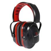 Earmuffs, Red, Youth-Smaller Adult, Sleek Design, Adjustable Headband, XC0130CS